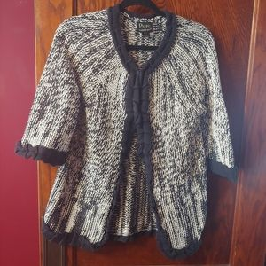 Pure HANDKNIT 100%cotton cardigan
